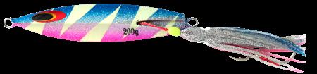 Sea Falcon Drain Inchiku 200гр. Джиг 04 Lighting Glowing Blue Pink