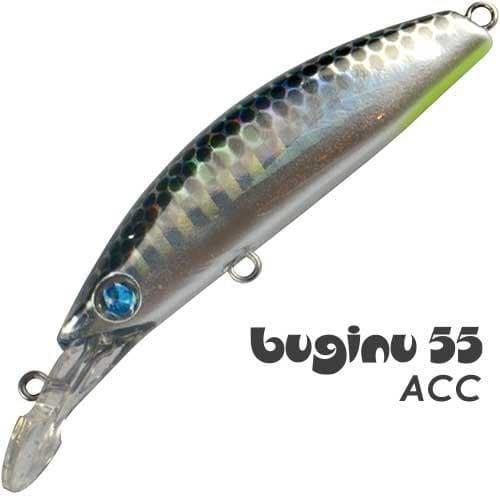 SeaSpin Buginu 55 Воблер BG55-ACC