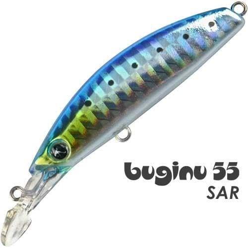 SeaSpin Buginu 55 Воблер BG55-SAR