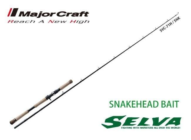 Major Craft SELVA SNAKEHEAD SVC-71H/SNK Въдица