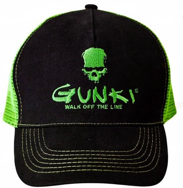 GUNKI Black Trucker Hat Шапка