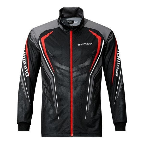 Shimano Full Zip Print Shirt Блуза с цип SH051PLBK