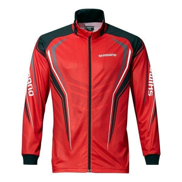 Shimano Full Zip Print Shirt Блуза с цип SH051PLRD