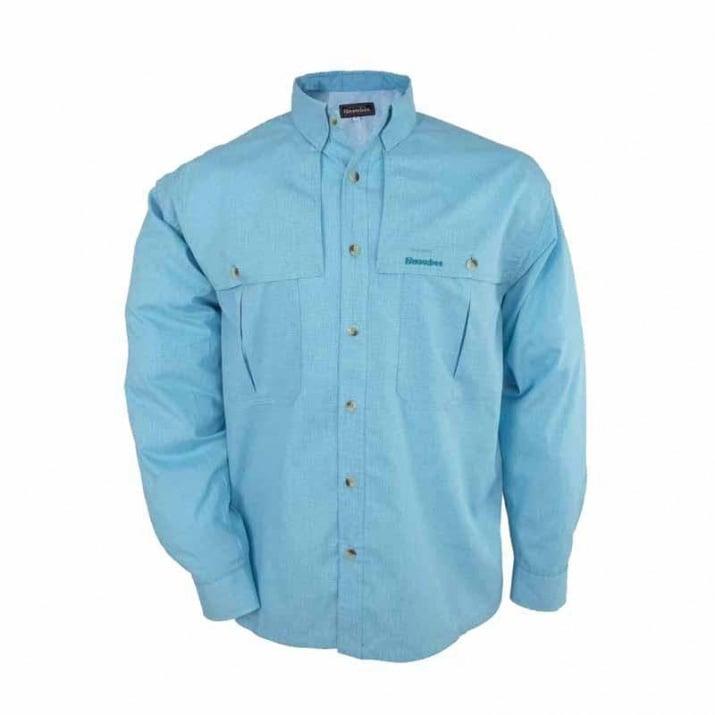 Snowbee Light Риза XL - Electric Blue