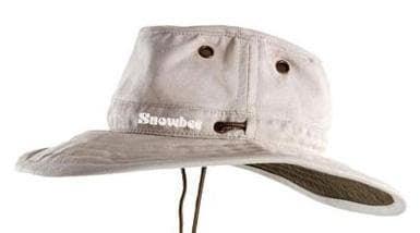 Snowbee Шапка широка периферия S - бяла