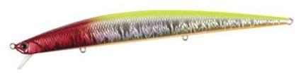 DUO Tide Minnow Slim 140 Flyer Воблер DPA0430 Chartback Red Head
