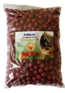 FilStar Протеинови топчета - 3кг. Ягода/Сметана