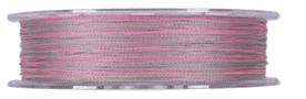 YGK PE Line Real Sports G-soul X4 Upgrade 150 m Плетено влакно 0.128 mm   PE 0.6   сребрист/розов