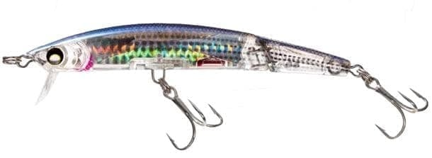 Yo-Zuri Crystal 3D Minnow Deep Diver Jointed 130mm 25g F1052 Воблер