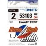 Owner Hayate Twist 53103 Единична кука