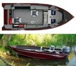 Alumacraft Escape 165 Лодка2