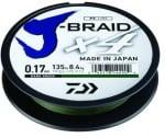 Daiwa J-Braid X4 GRN Плетено влакно JBX4GRN135-010