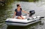 Mercury Dinghy 240 Лодка Реклама