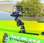 Railblaza Kayak/Dinghy Transducer Arm XL Стойка за сонда4