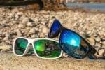 River HD Fly - Lente Specchiata Verde / Bianco Очила 1