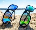 River HD Fly - Lente Specchiata Verde / Nero Очила 1